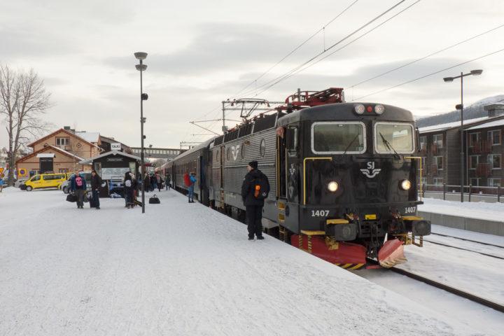 Bahnhof Åre Intercity