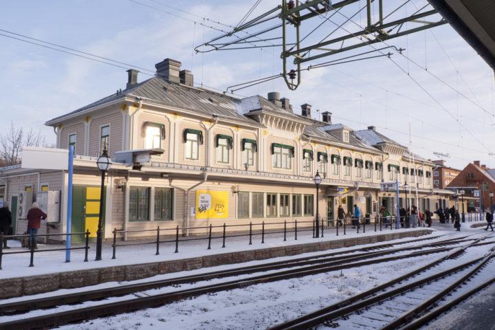 Östersund Bahnhof Empfangsgebäude