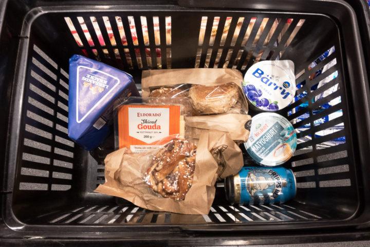 Produkte aus dem schwedischen Supermarkt