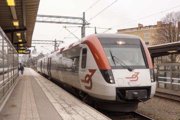 Tåg i Bergslagen Örebro Bahnhof