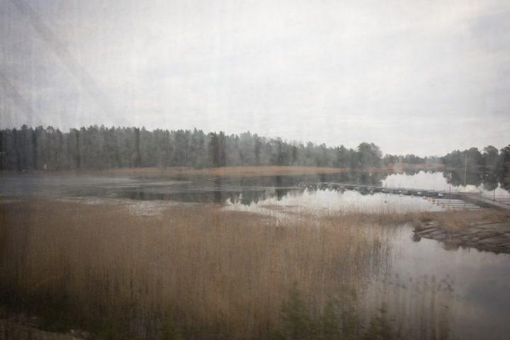 Ufer des Vänern vor Kil